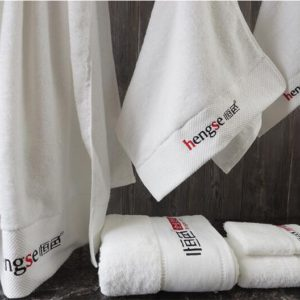 a White Hotel Towels Picture