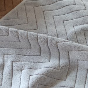 Best selling bathroom special absorbent jacquard mat-detail